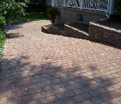 Paver Driveway and Retaining Wall, Annpolis