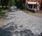 Ecostone Pervious Driveway, Galesville