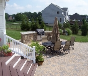 Outdoor Kitchen and Pool Deck, Davidsonville