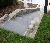 Waterfront Flagstone Steps, Annapolis