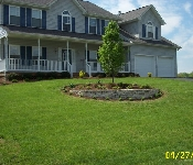 Front Yard Landscaping, Crownsville