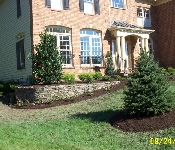 Front Yard Landscaping, Davidsonville