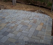 Cut Flagstone Patio, Edgewater