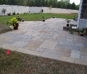 Cut Flagstone Patio, Annapolis