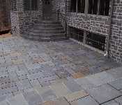 Curved Stone Steps and Patio, Annapolis