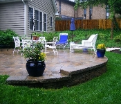 Raised Paver Patio, West Annapolis