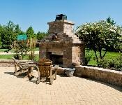 Brick Paver Patio, Davidsonville
