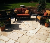 Flagstone Pool Deck, Owings