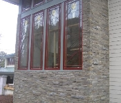 Stacked Stone Veneer, East Port