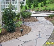 Lilac Natural Flagstone, Edgewater