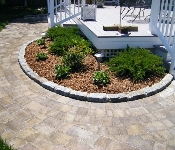 Paver Walkway with Belgian Block, Annapolis