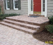 Paver Walkway and Front Steps, Davidsonville