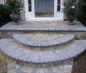 Front Steps Pavers and Stone Facing, Crownsville