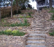 Waterfront Stone Steps, Severna Park