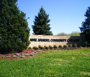 Front Entrance Landscaping, Anne Arundel Community College