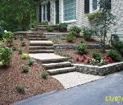 Front Entrance Landscaping, Davidsonville