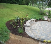 Paver Patio and Landscaping, Annapolis