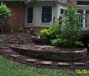 Stepping Stone Path and Landscaping, Davidsonville