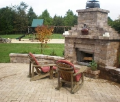 Outdoor Fire Pit and Patio, Davidsonville