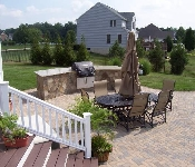 Outdoor Kitchen and Pool Patio, Davidsonville