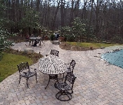 Pool Paver Patio with Circle Pattern, Davidsonville