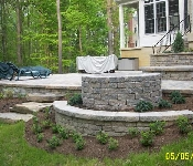 Boulder Steps and Patio, Davidsonville