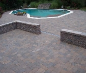 Cambridge Cobble Modular Pool Deck, Annapolis