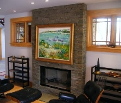 Fireplace Masonry Wall, Annapolis