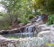Waterfall and Pond, Davidsonville