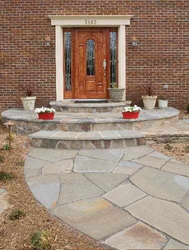 how to cut flagstone with a grinder